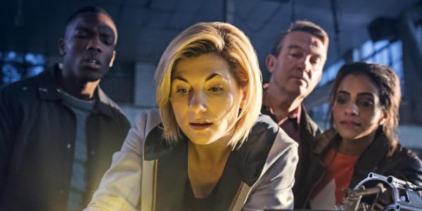 Doctor Who Ryan Sinclair The Doctor Graham O'Brien Yasmin Khan