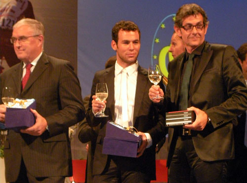 Mark Cavendish awards 2009