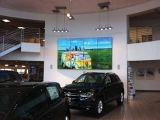 Elite Controls Teams With AVAD for Volkswagen Videowall