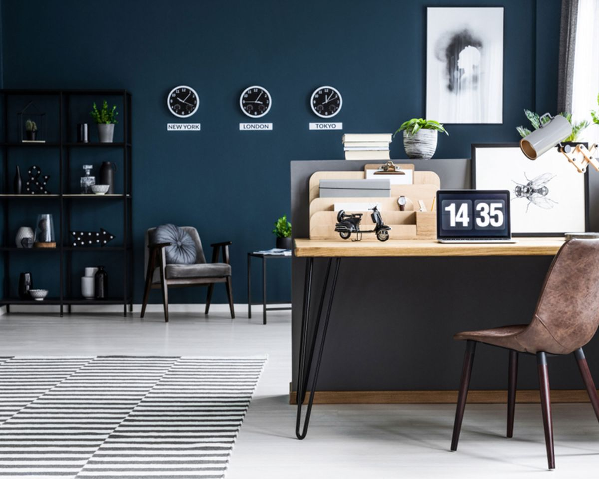 These are the worst colors to paint your home office