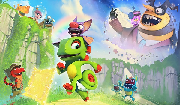 The cast of Yooka-Laylee