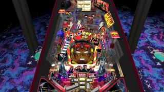 The AC/DC pinball table