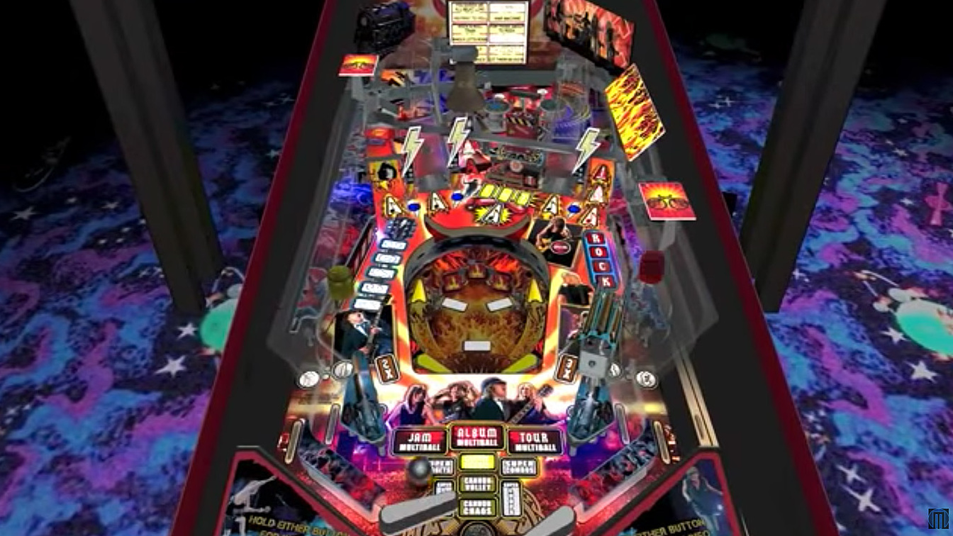 AC/DC pinball gets virtual reality makeover | Louder