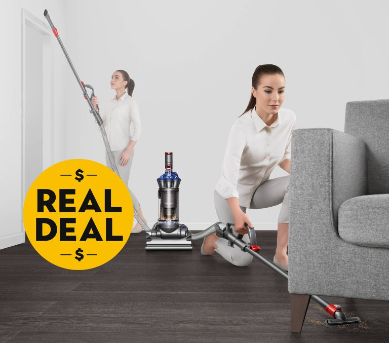 Dyson DC33 vacuum cleaner with real deal button
