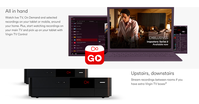 Updated app lets you download Virgin Media TV shows to