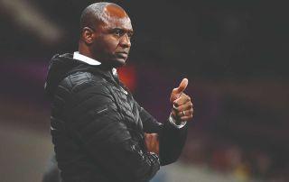 Patrick Vieira Crystal Palace FourFourTwo season preview