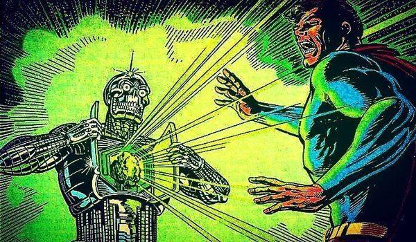 dc comics metallo superman