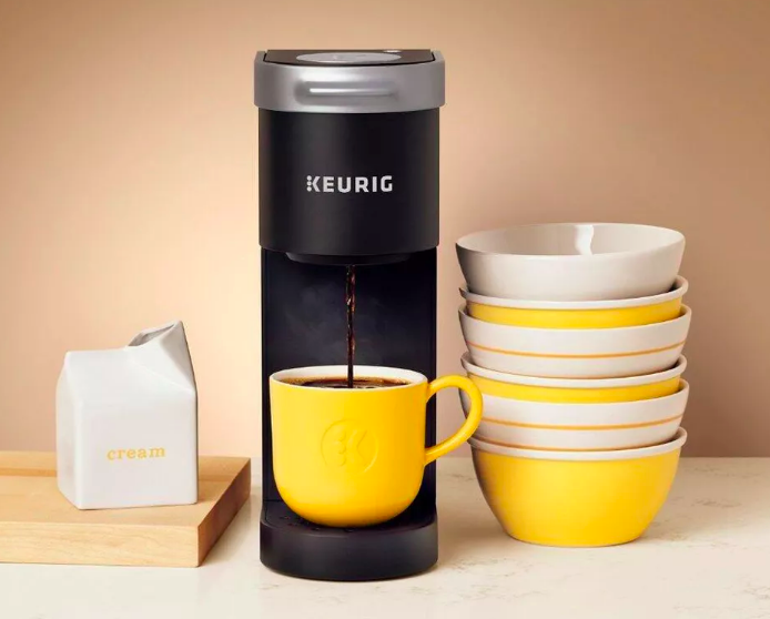 This single-serve coffee maker was made for compact dorm rooms