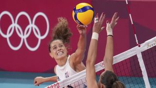 Team USA vs Italy volleyball