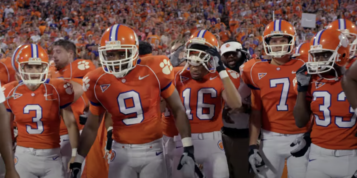 The Clemson football team in Safety