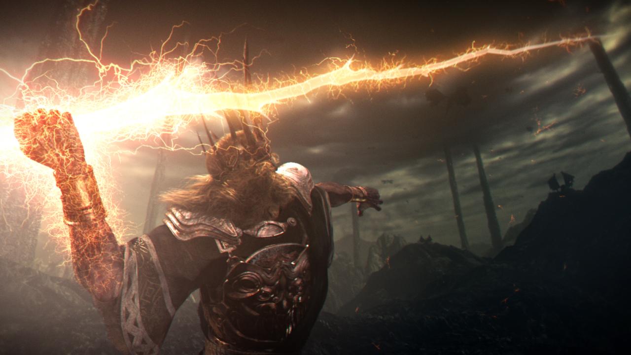 Dark Souls Gwyn Lord of Cinder final boss intro
