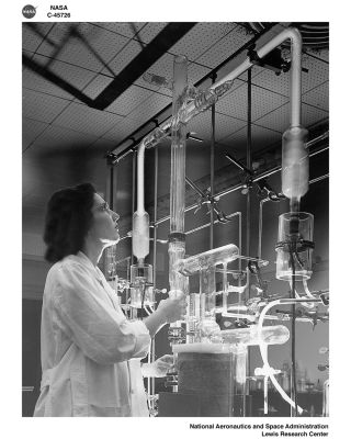 space history photo, female, woman, physicist