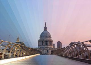 St paul's London time slice photography