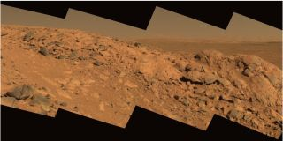 Longhorn outcropping on Mars