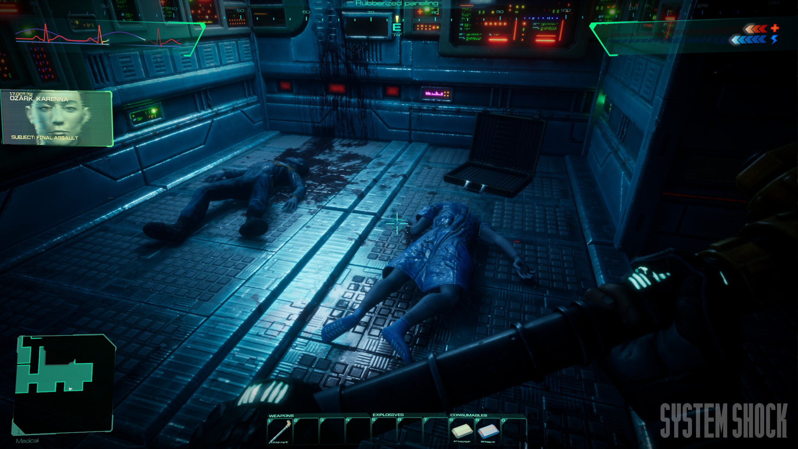 The System Shock remake is looking damn good