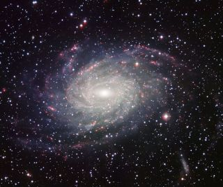 This picture of the nearby spiral galaxy NGC 6744, which could be the Milky Way's twin, was taken at the European Southern Observatory's La Silla Observatory in Chile.