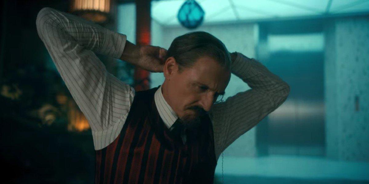 Colm Feore as Sir Reginald Hargreeves in Umbrella Academy