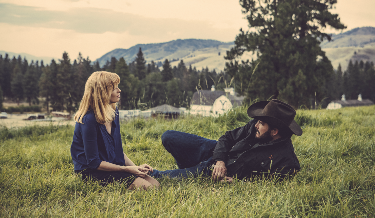 Yellowstone Beth Dutton Kelly Reilly Rip Wheeler Cole Hauser Paramount Network
