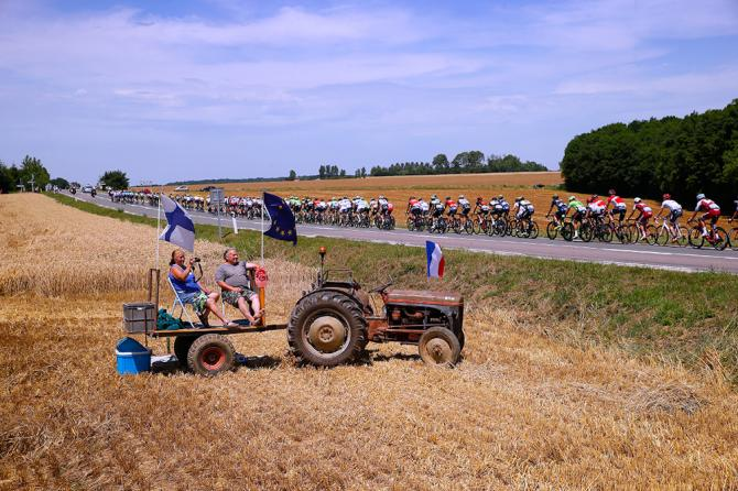 Scenery along the route of stage 6 at the Tour de France