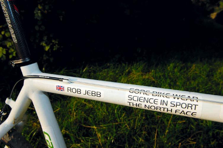 Rob Jebb's Cannondale CX9 cyclo-cross bike