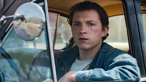 Tom Holland in 'The Devil All The Time.'