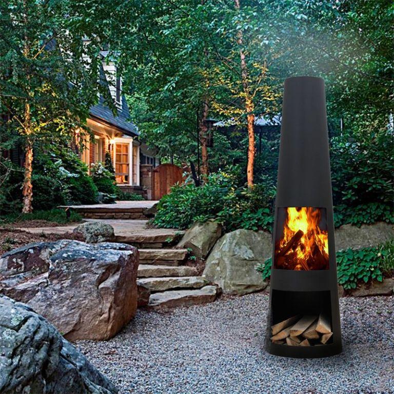 Saunderson Wood Burning Chiminea