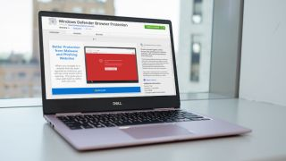 Windows Defender extension for Chrome