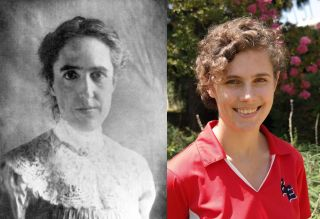 Henrietta Leavitt and Kate Hartman