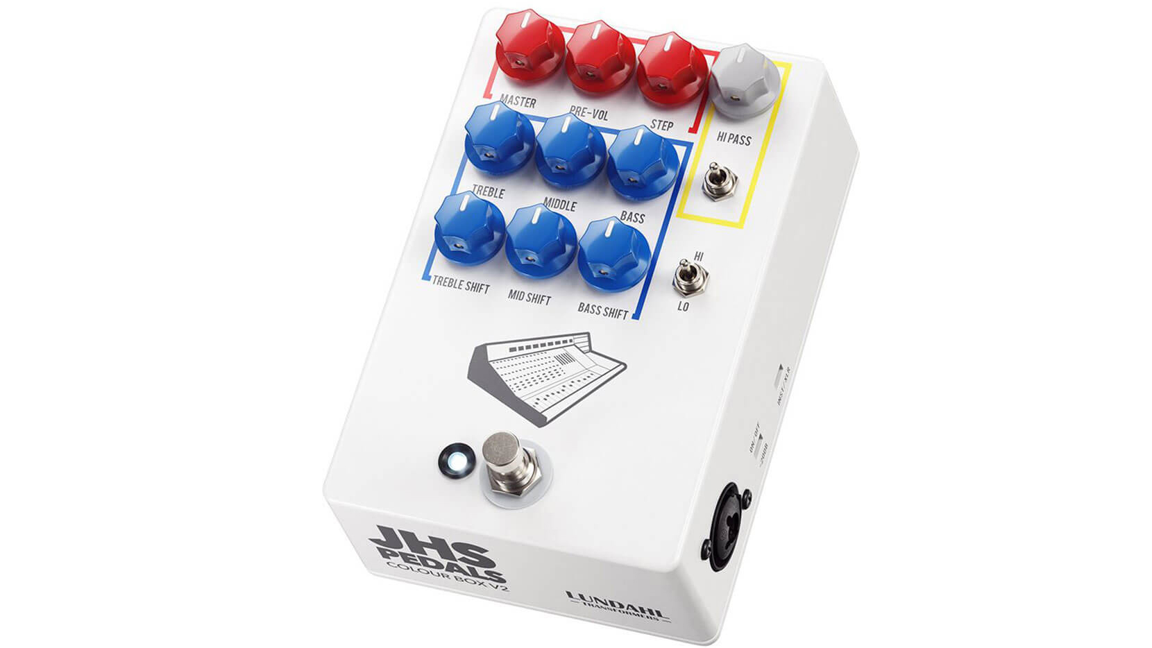 JHS Effects releases the Colour Box Version 2 preamp pedal | MusicRadar