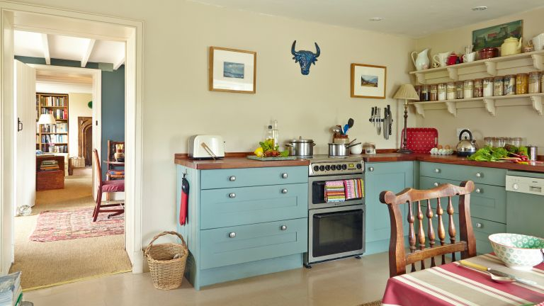kitchen in country cottage