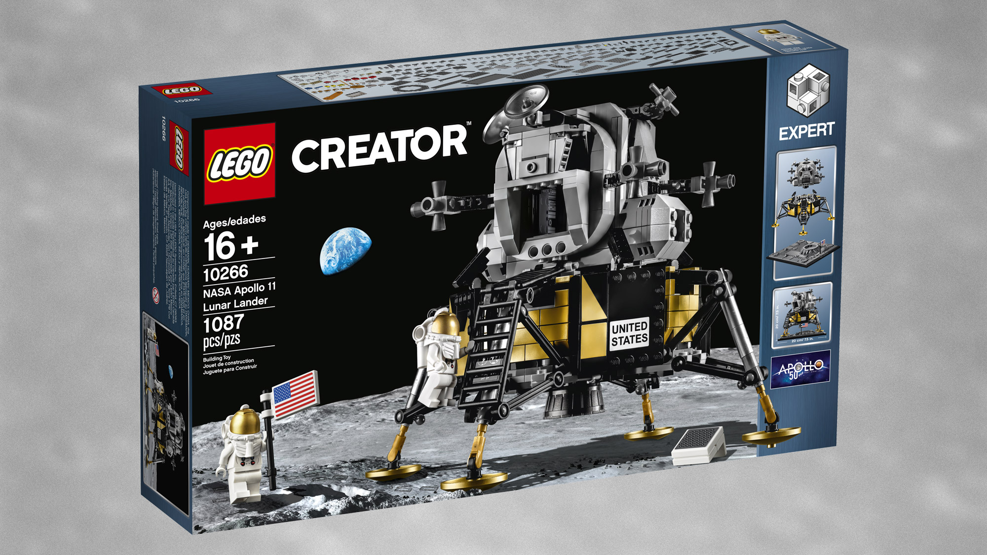 Lego's Epic Apollo 11 Lunar Lander Set in Photos | Space