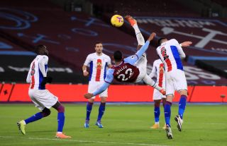 West Ham United v Crystal Palace – Premier League – London Stadium