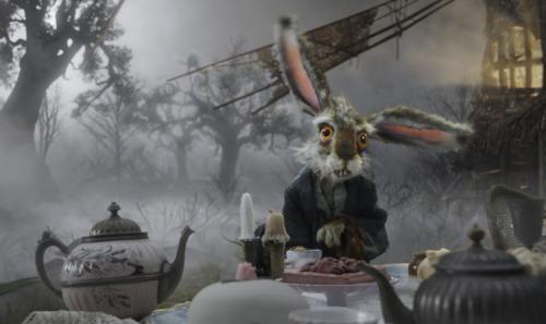 Alice in Wonderland - Tim Burton's reworked version of Lewis Carroll's classic tale