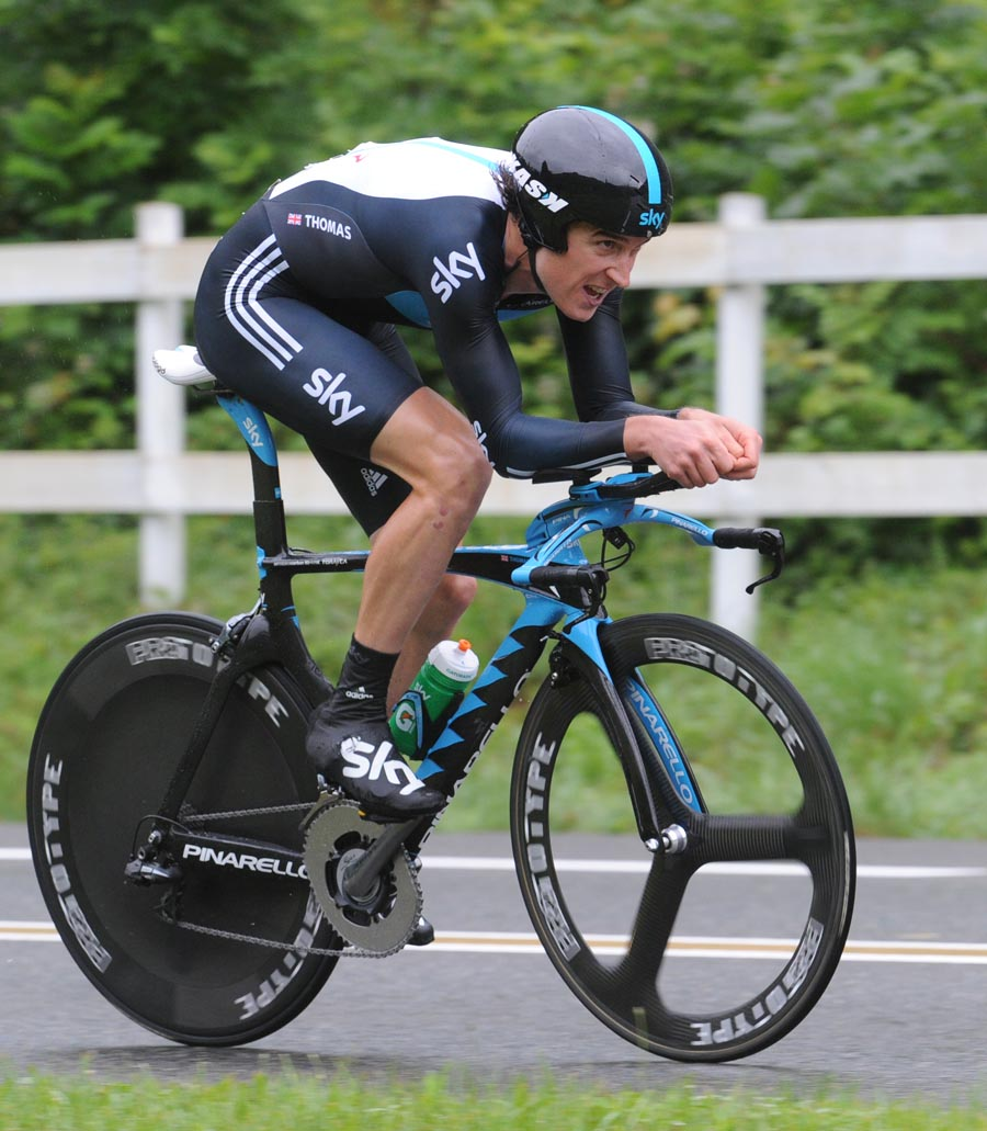 Geraint Thomas, Criterium du Dauphine 2011, stage three ITT