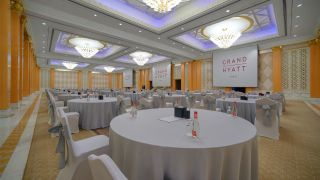 Grand Hyatt Hotel in Dubai has deployed an extensive digital signage solution from Exterity throughout the hotel as well as across its extensive conference and event facilities.