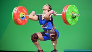 Sollevamento pesi femminile alle Olimpiadi