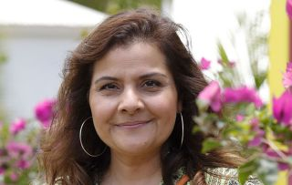 Nina Wadia as Anna in Death in Paradise