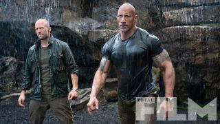 Dwayne Johnson and Jason Statham team up in exclusive new images from Fast & Furious: Hobbs & Shaw