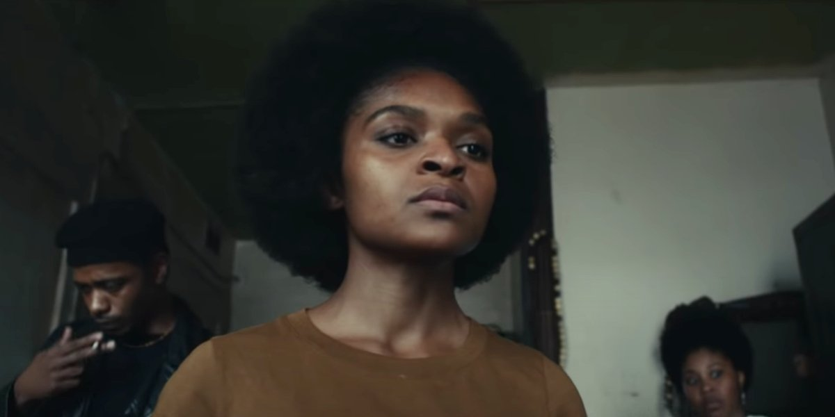 Dominique Thorne in Judas and the Black Messiah