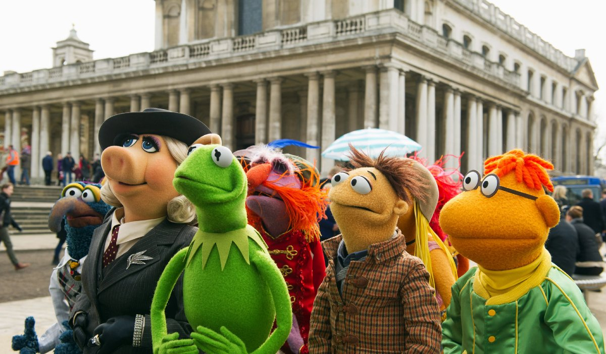 Muppets Most Wanted The Muppets in Europe