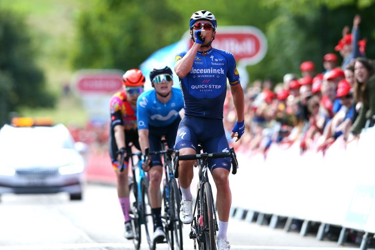 Yves Lampaert wins stage seven of the 2021 Tour of Britain