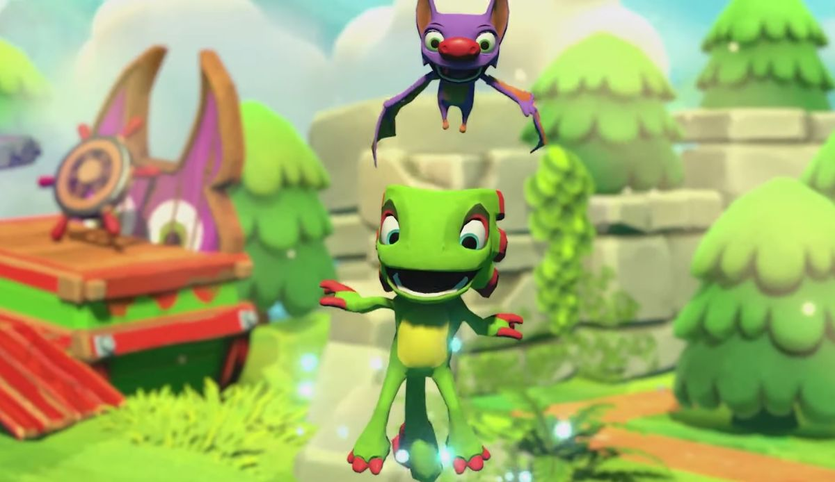 Yooka-Laylee and the Impossible Lair is getting a free demo this week