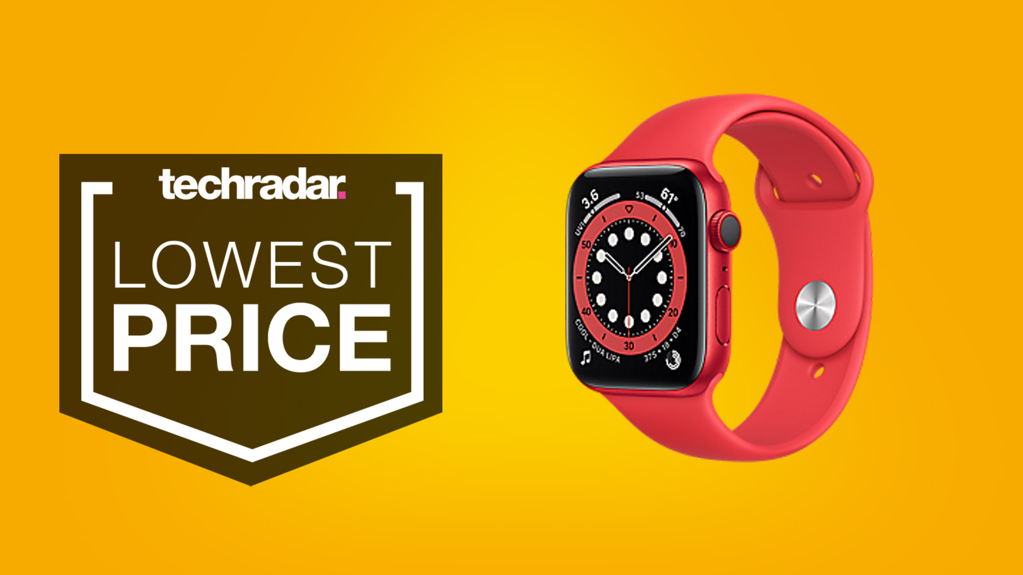 Apple Watch deal: the Apple Watch 6 hits lowest price ever ahead of Cyber Monday thumbnail
