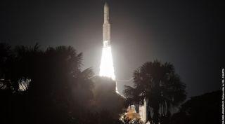 Ariane 5 rocket satellite launch