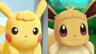 Pokemon Let's Go hairstyles include Eevee bangs and a Pikachu perm