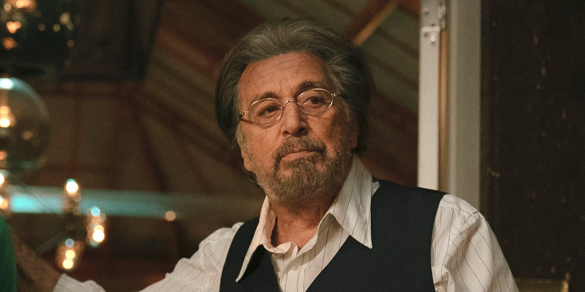 Did Al Pacino Just Fall Asleep On Camera At The Golden Globes?