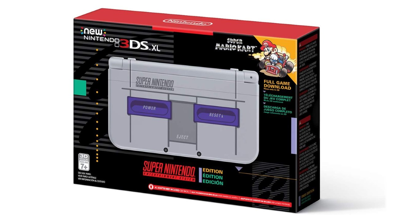 Grab A Snes Edition New 3ds Xl For 25 Off 149 With This Black