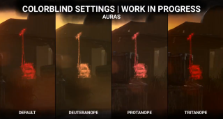 Dead by Daylight's new colorblind mode.