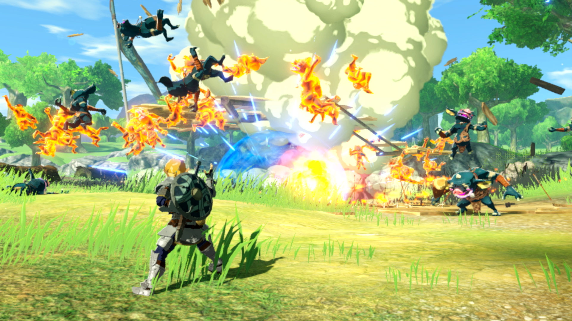 Hyrule Warriors Age Of Calamity Preview A Lot Deeper Than Hacking And Slashing Gamesradar