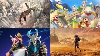 Skyscraper, Captain Toad, Fortnite and Far Cry 5